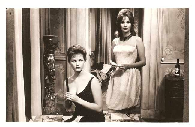 Silver Spoon Set CLAUDIA CARDINALE ampamp ANTONELLA LUALDI in amp034The Dauphins I