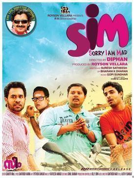 SIM (film) movie poster