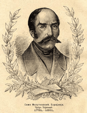 Sima Milutinovic Sarajlija pixels