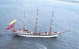 Simón Bolívar (barque) httpsuploadwikimediaorgwikipediacommonsthu