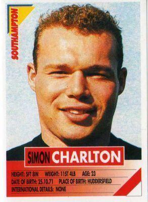 Simon Charlton wwwsportsworldcardscomekmpsshopssportsworldi