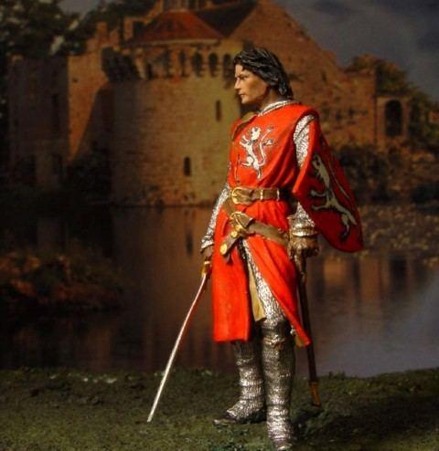 Simon de Montfort, 6th Earl of Leicester SimonDeMontfortwithaSwordjpg