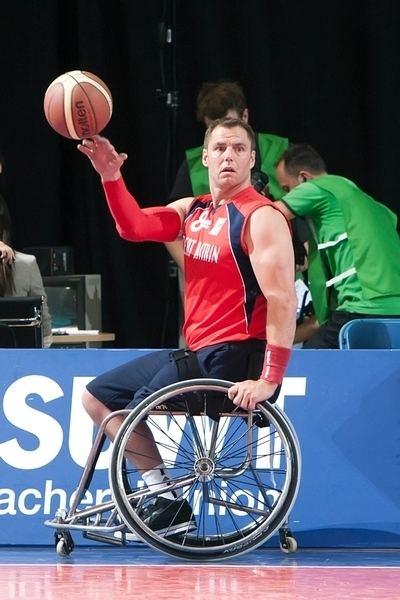 Simon Munn Great Britain Men39s wheelchair basketball player Simon