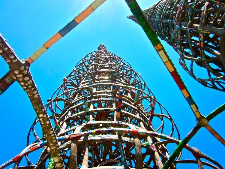 Simon Rodia Watts Tower of Simon Rodia in LA One Cool Thing Every