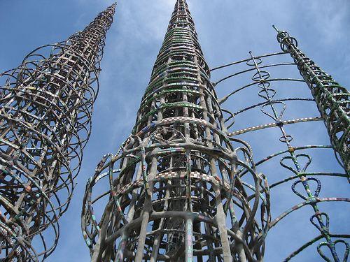 Simon Rodia Big Orange Landmarks No 15 Towers of Simon Rodia