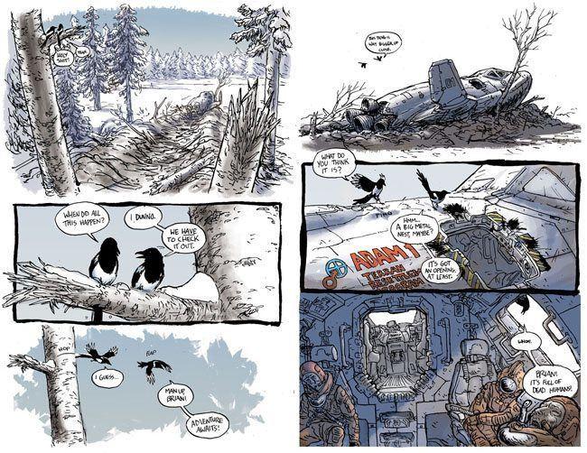 Simon Roy Simon roy The Comics Journal