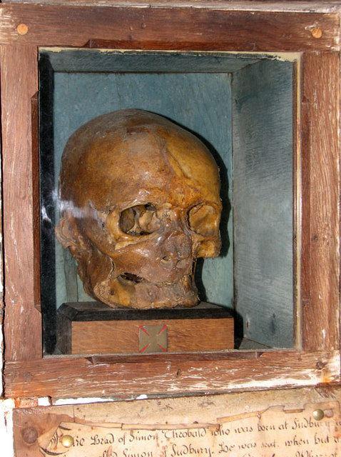 Simon Sudbury Tyrtylius39 records source 1 source 2 The killing of