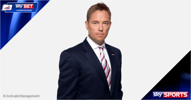 Simon Thomas (television presenter) Sport On The Box Football League 201415 QampA with Sky