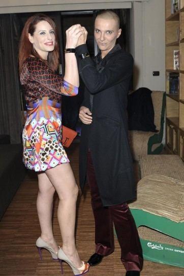 Simona Borioni Rosalinda Celentano e Simona Borioni le foto dell39ex