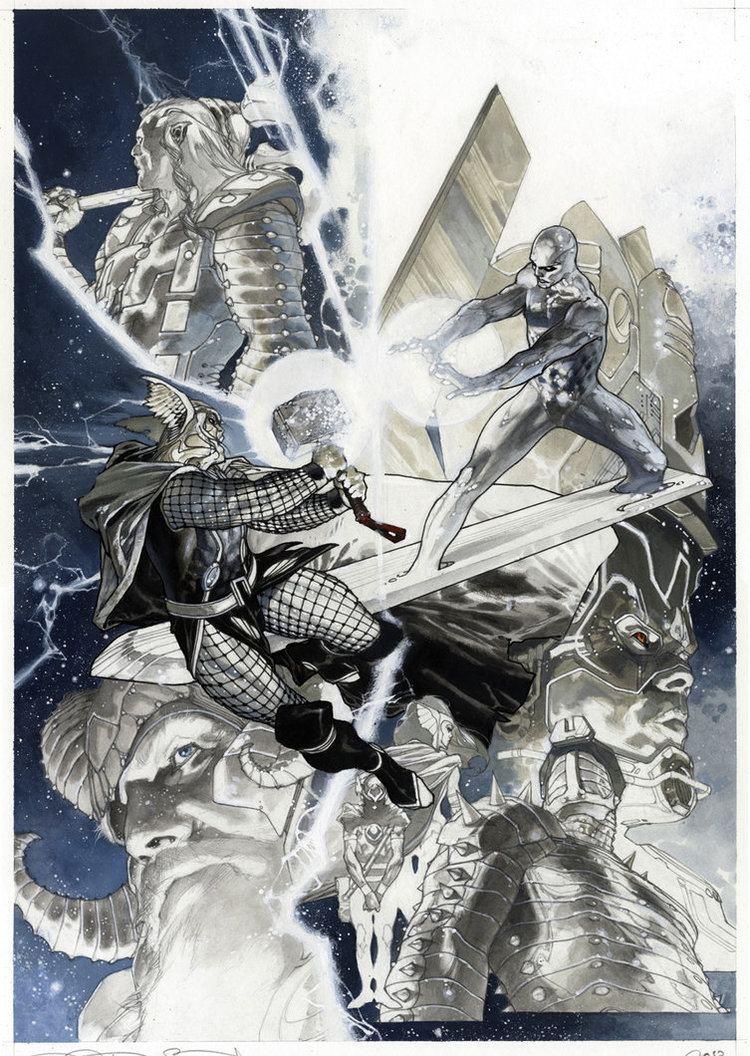 Simone Bianchi (artist) Simone Bianchi Thor Final issue cover by simonebianchi on