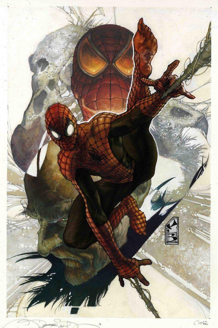 Simone Bianchi (artist) Simone Bianchi Superior Spider Man by simonebianchi on