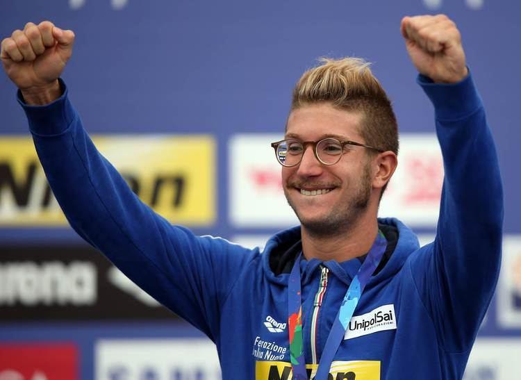 Simone Ruffini Ruffini wins open water gold The Himalayan Times