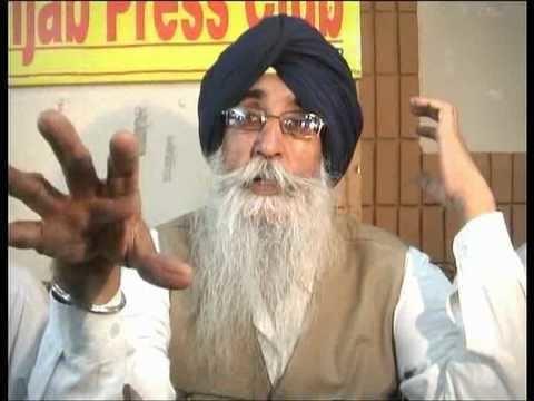 Simranjit Singh SIMRANJIT SINGH MANN ON PANJAB GOVTmpg YouTube