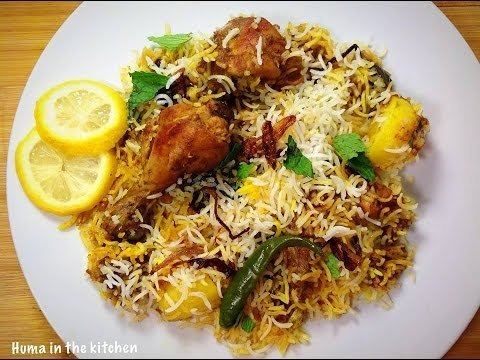 Sindhi biryani Sindhi Biryani Recipe by HUMA IN THE KITCHEN YouTube