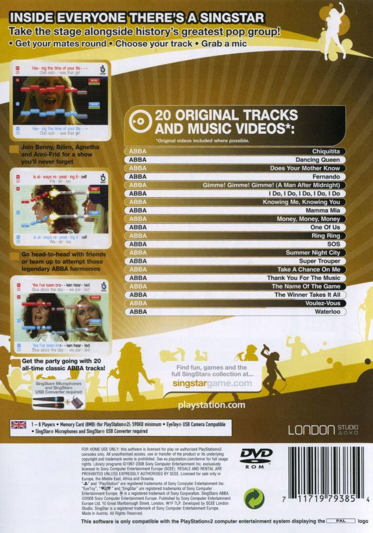 SingStar ABBA - Alchetron, The Free Social Encyclopedia