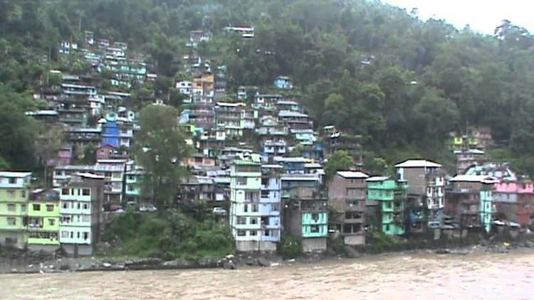 Singtam Singtam earthquake scene during Sikkim Earthquake 2011 5 YouTube