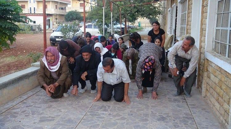 Sinjar massacre Yazidis in Afrin denounce Sinjar massacre ANHA