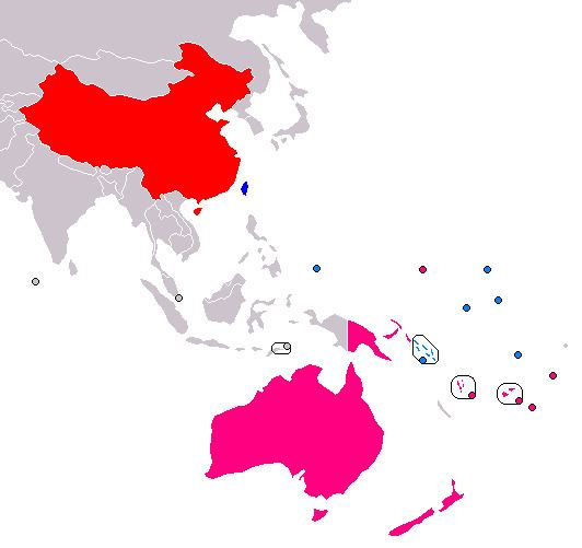 Sino-Pacific relations