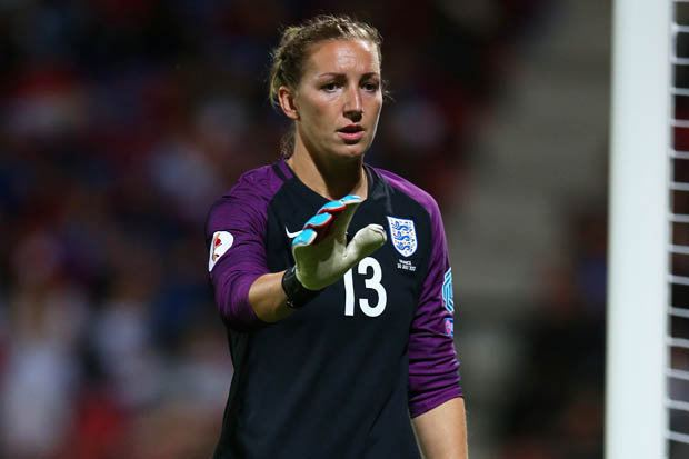 Siobhan Chamberlain Siobhan Chamberlain ready to step up for England in Euro 2017 semi