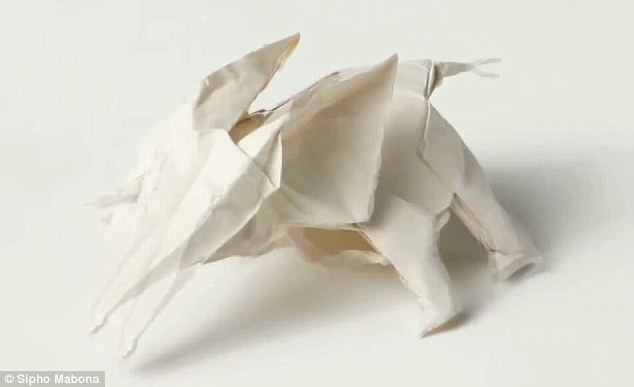 Sipho Mabona Origami Artist Plans To Fold 15m By Sheet