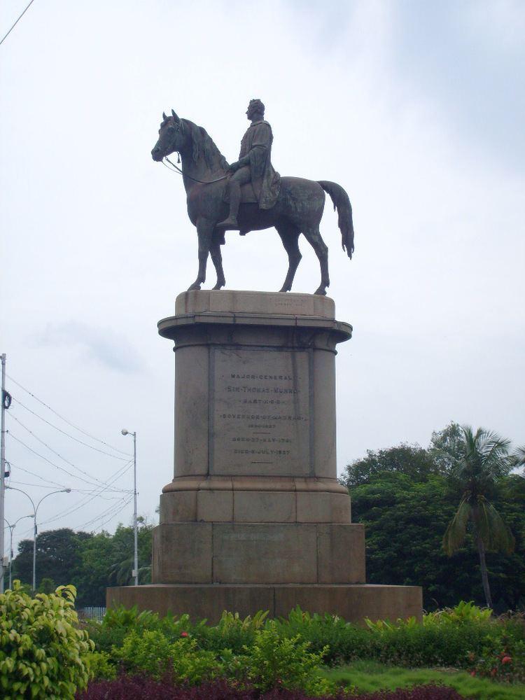Sir Thomas Munro, 1st Baronet Statue of Thomas Munro Wikipedia