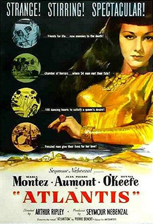 Siren of Atlantis Siren of Atlantis 1949 movie poster 2 SciFiMovies