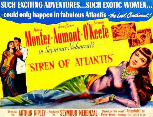 Siren of Atlantis Siren of Atlantis 1949 Gregg C Tallas Maria Montez JeanPierre
