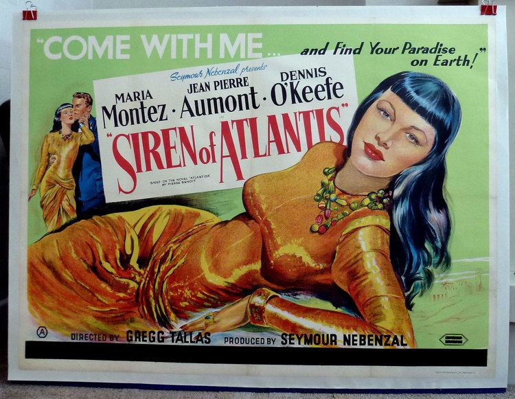 Siren of Atlantis Siren of Atlantis 1949 starring Maria Montez Jean Pierre Aumont
