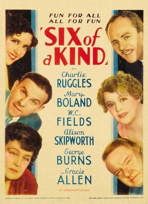 Six of a Kind Six of a Kind Movie Posters From Movie Poster Shop