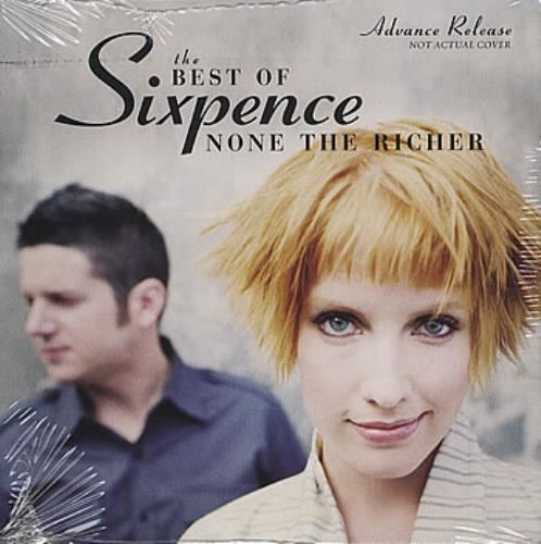 Sixpence None the Richer Sixpence None The Richer The Best Of US Promo CD album CDLP 384380
