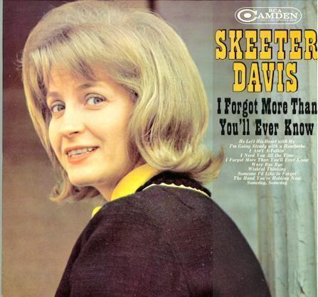 Skeeter Davis Skeeter Davis RCA Camden Albums
