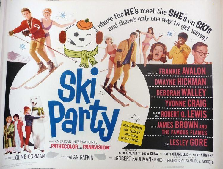 Ski Party Ski Party 1965 poster Beach Party Movies