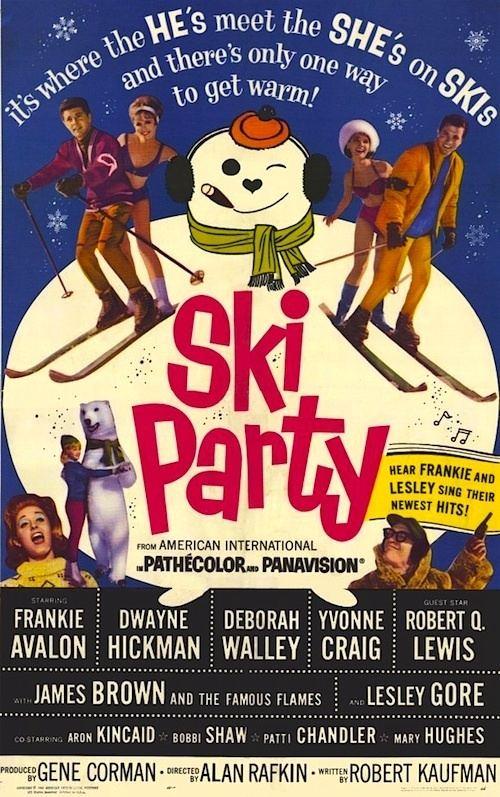 Ski Party SKI PARTY 1965 Movie on DVD The Hondells James Brown SKI PARTY