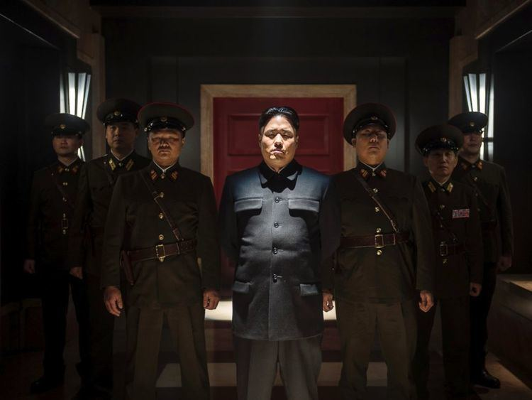 Sky Larks movie scenes PHOTO Randall Park portrays North Korean leader Kim Jong Un in Columbia Pictures The Interview