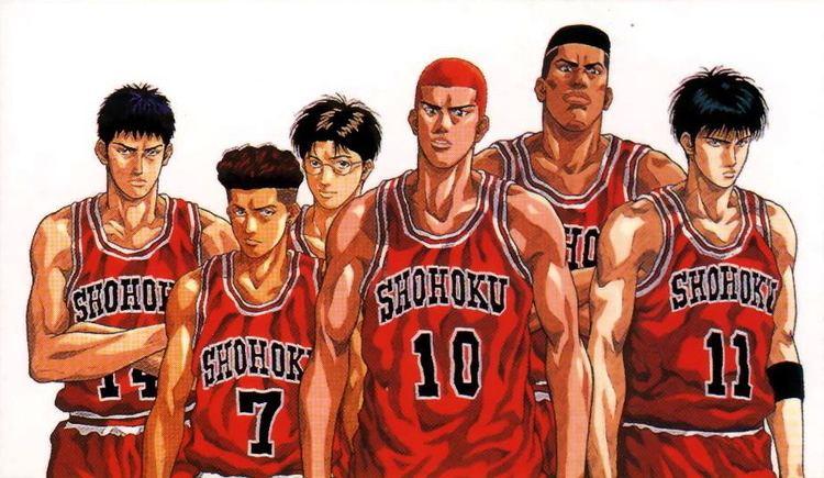 Slam dunk Slam Dunk39s Shohoku MyAnimeListnet