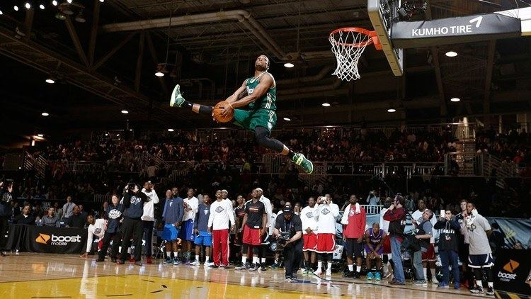 Slam Dunk Contest 2014 NBA DLeague Slam Dunk Contest presented by Boost Mobile YouTube