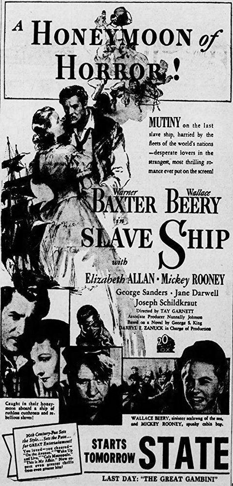 Slave Ship (1937 film) Slave Ship 1937