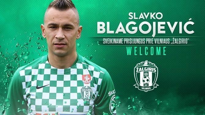 Slavko Blagojević Slavko Blagojevi potpisao za algiris Sport Istra