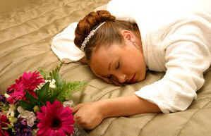 Sleeping Bride No Thanks A Family Friend Will Perform Our Wedding Ceremony
