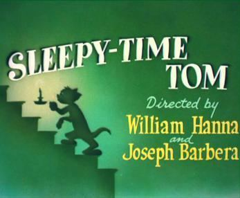 Sleepy Time Tom movie poster
