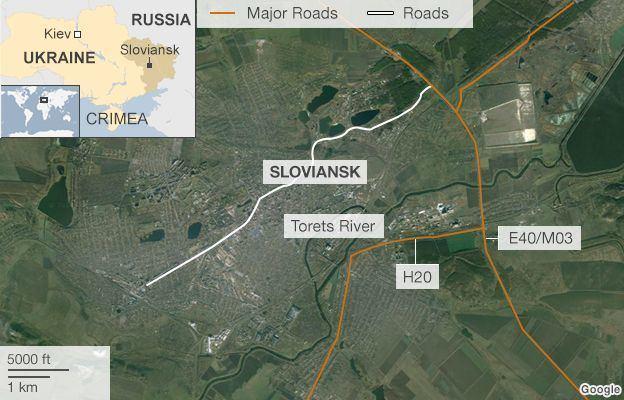 Sloviansk in the past, History of Sloviansk