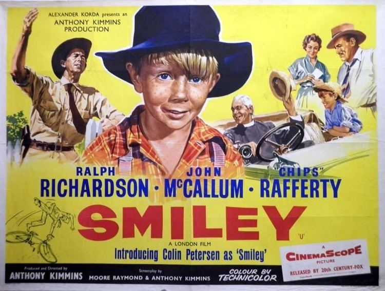 Smiley (1956 film) Tom Chantrell Posters Smiley Australia Quad Cinema Poster 1956 1956
