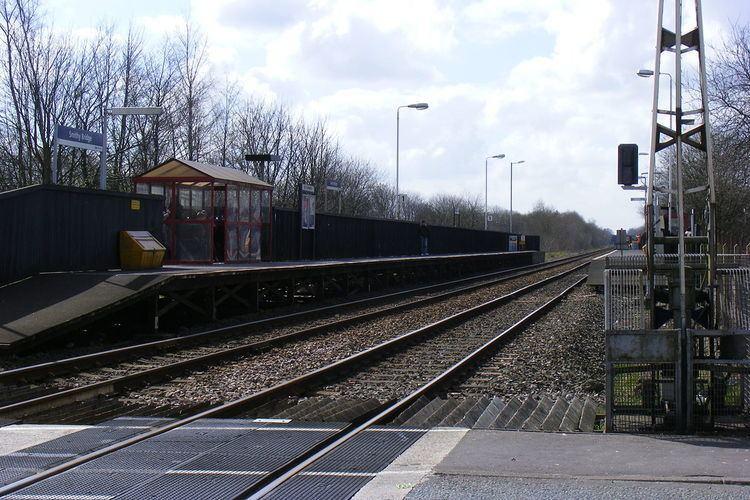 Smithy Bridge railway station