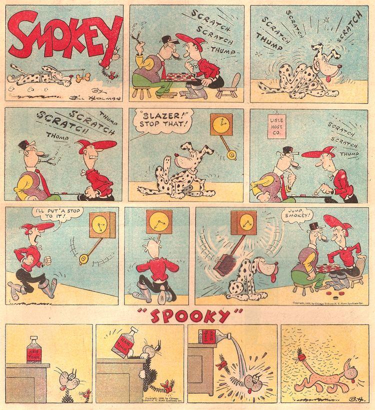 Smokey Stover Screwball Comics The Birth of Smokey Stover First Puffs 1935