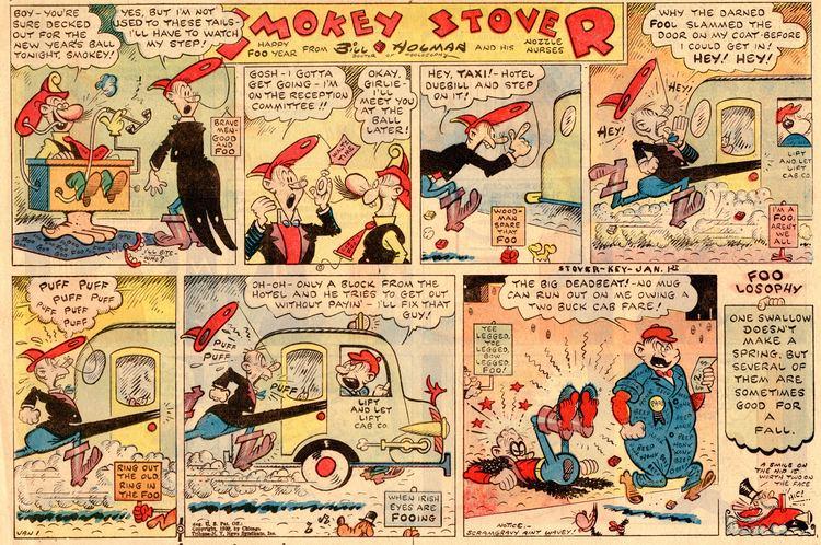 Smokey Stover Screwball Comics Smokey Stover39s Pipe Dream 1939