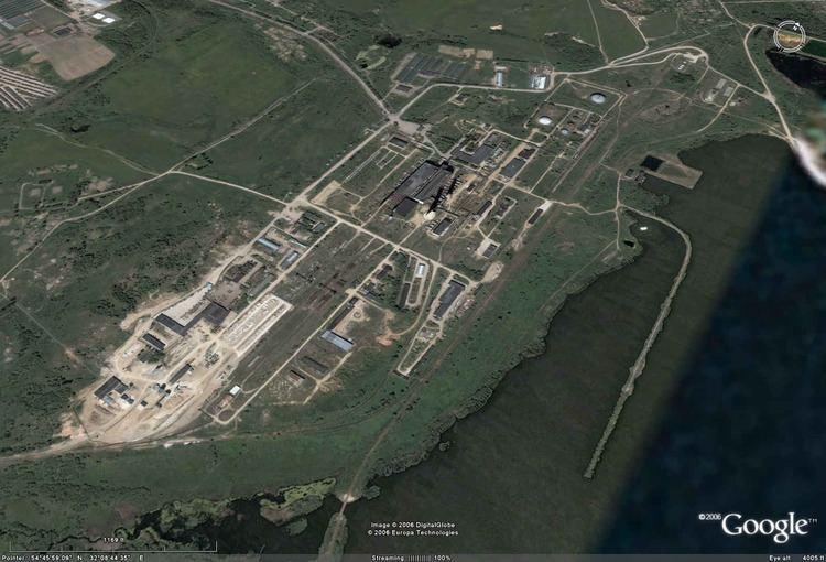 Smolensk Nuclear Power Plant Smolensk Nuclear Power Plant Eyeball