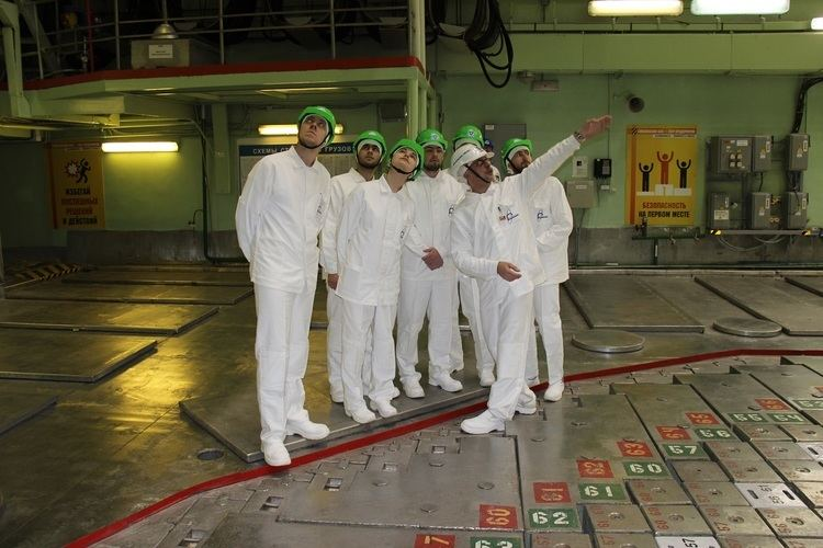 Smolensk Nuclear Power Plant Onthejob training for Belarusian students at Smolensk nuclear