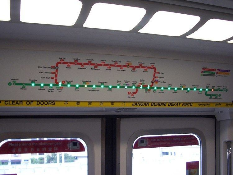 SMRT Active Route Map Information System