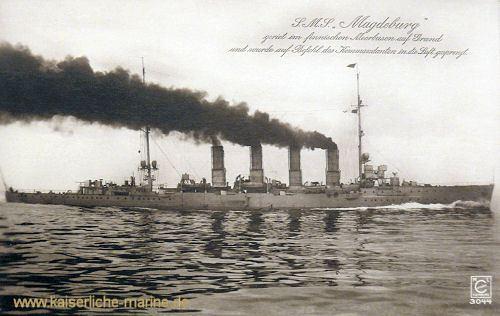 SMS Magdeburg SMS Magdeburg 1911 Kleiner Kreuzer der kaiserlichen Marine
