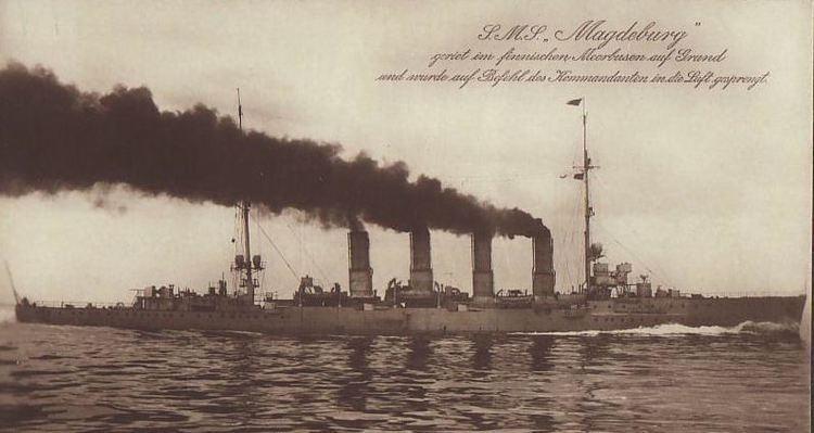 SMS Magdeburg MAGDEBURG CRUISER LIGHT 19121914 WRECK WRAK EPAVE WRACK PECIO